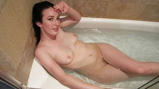 naked in the bath