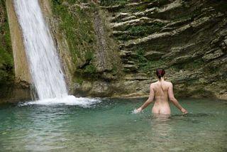 nude swimming