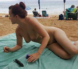 outside nude girls