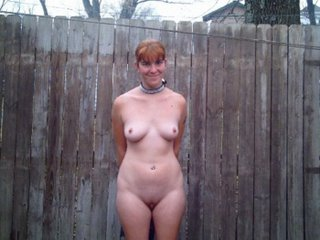 NUDE OUTSIDE