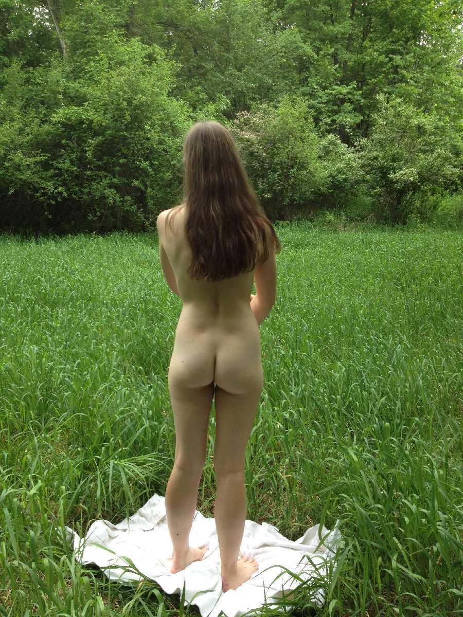 Nude in a Meadow