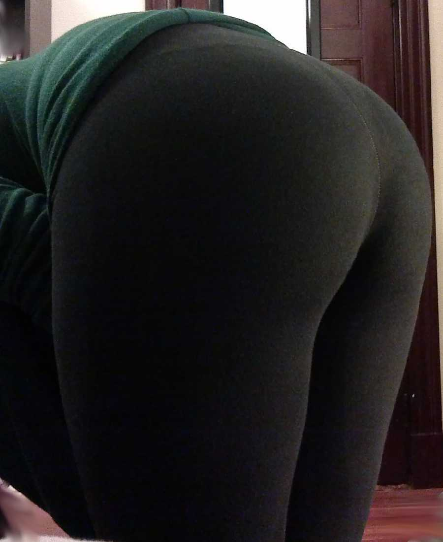 Yoga Pants on and Off
