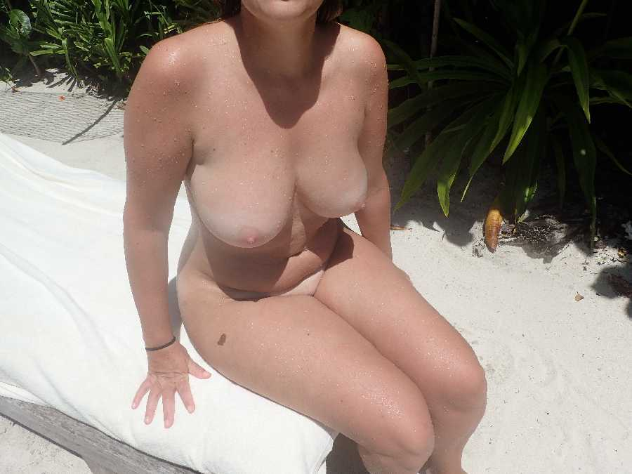 Nude at Resort