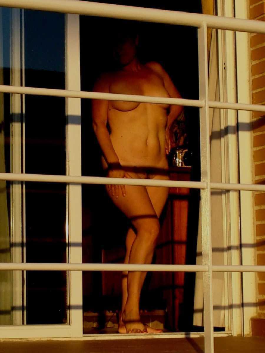 Nude on the Balcony