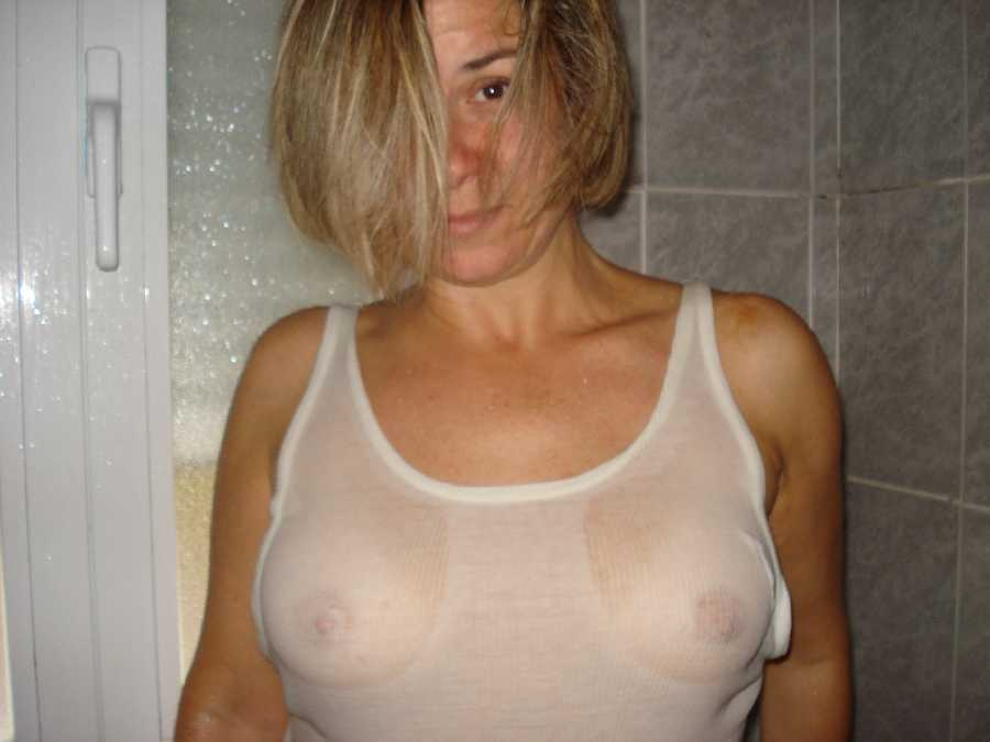 Wet tshirt wife amateur