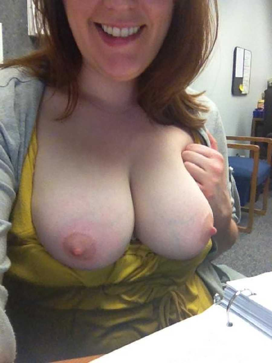 Soaked Pussy at Work