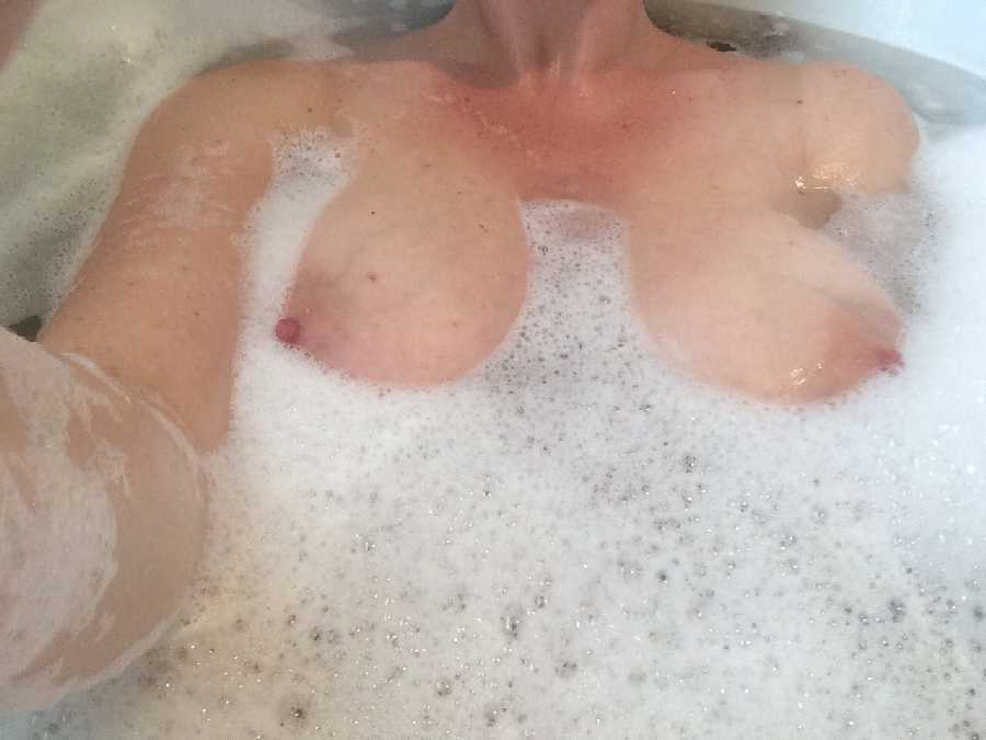 Boobs in the Bath