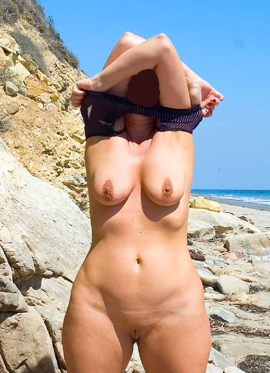 Wife Nude at Beach