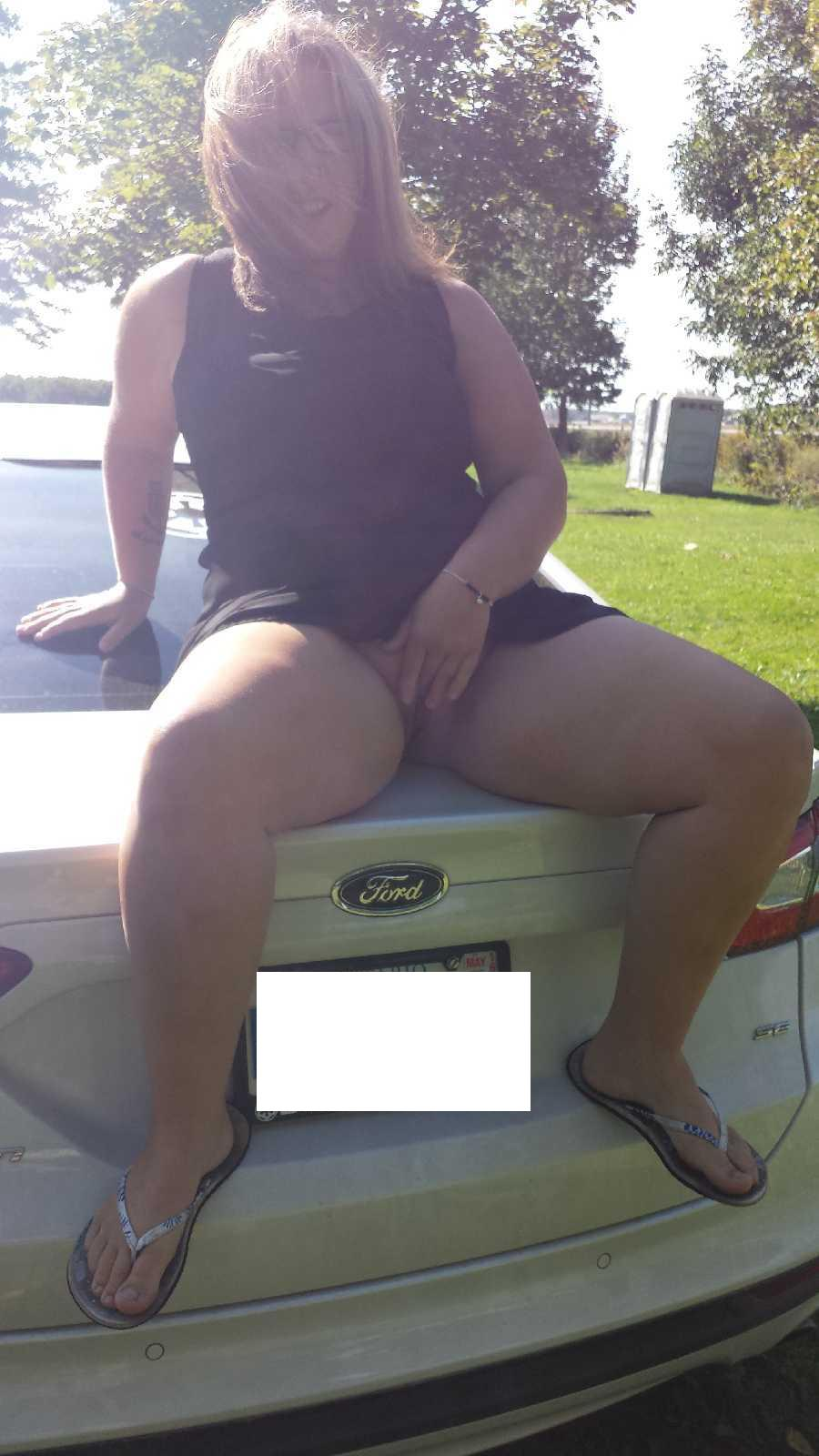 Pussy in Public