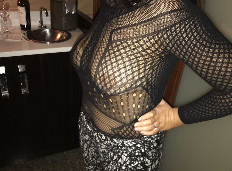 See Through One Piece on Night Out