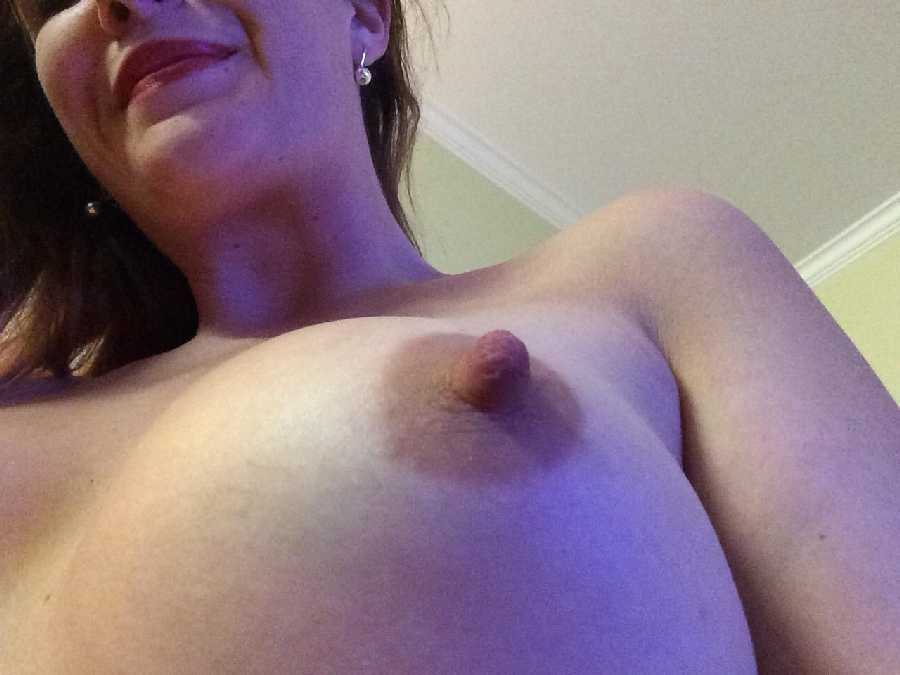Close Up Hard Nipples