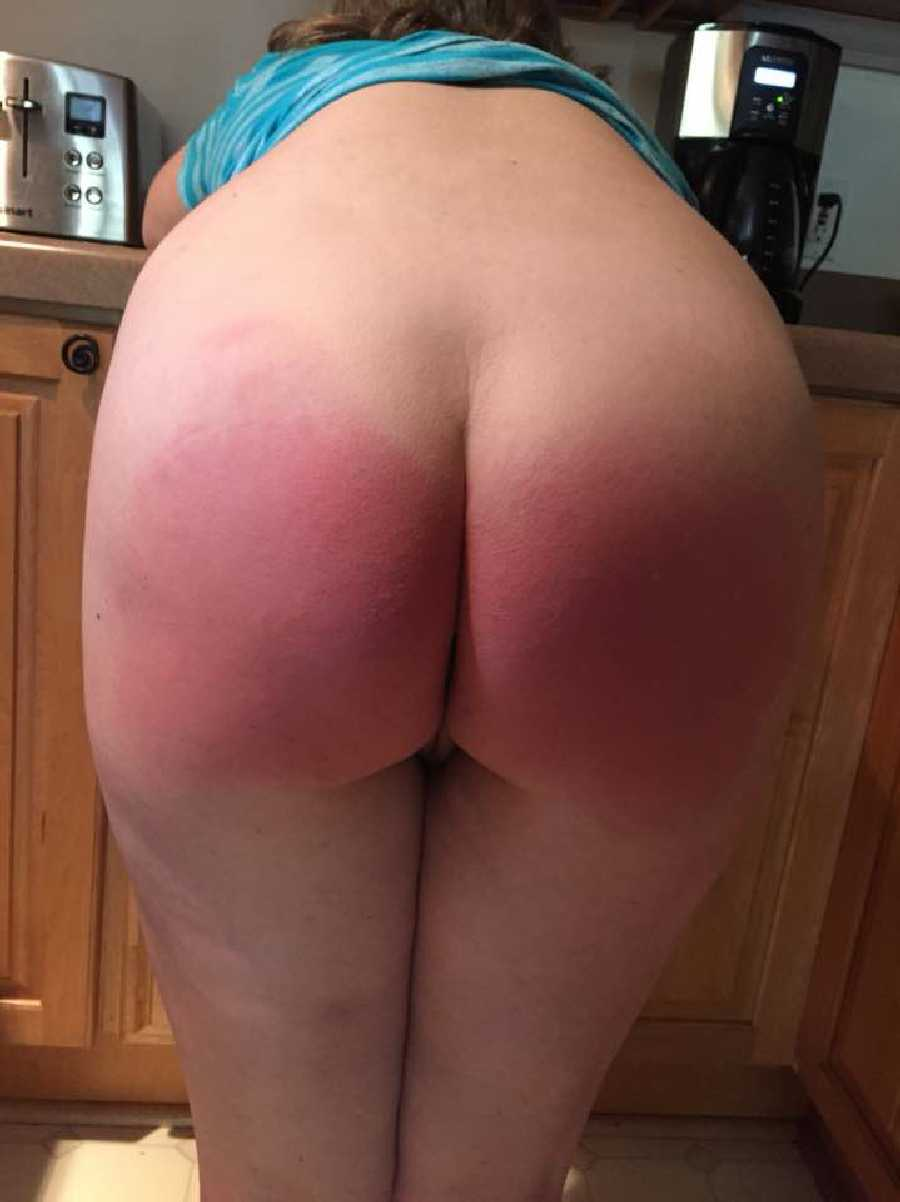 Freshly Spanked Ass
