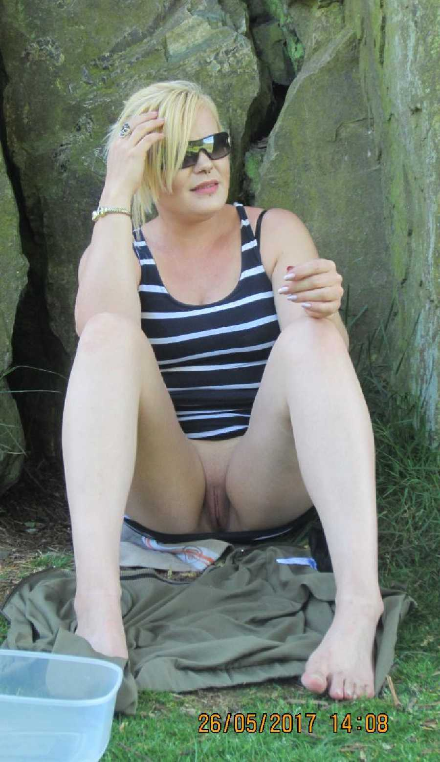 Nude at a Nature Reserve