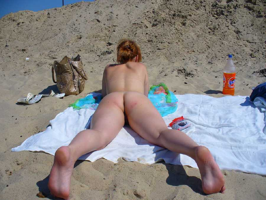 Wife Naked at the Beach