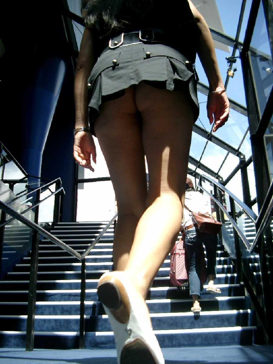 No Panties, Public Dare