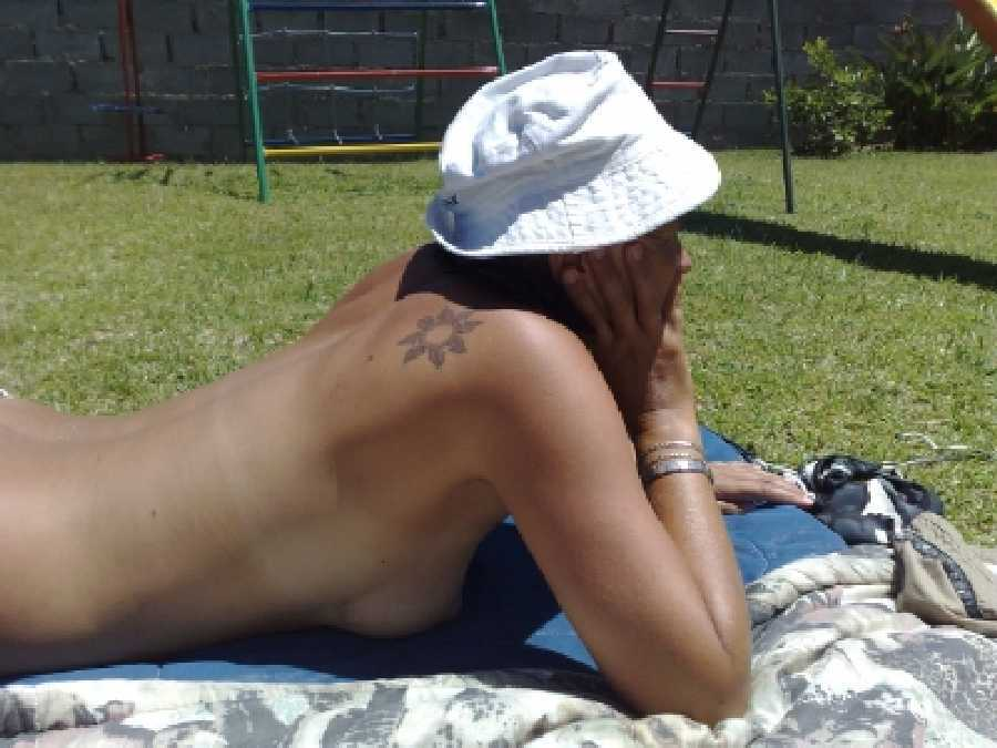 Tanning Topless