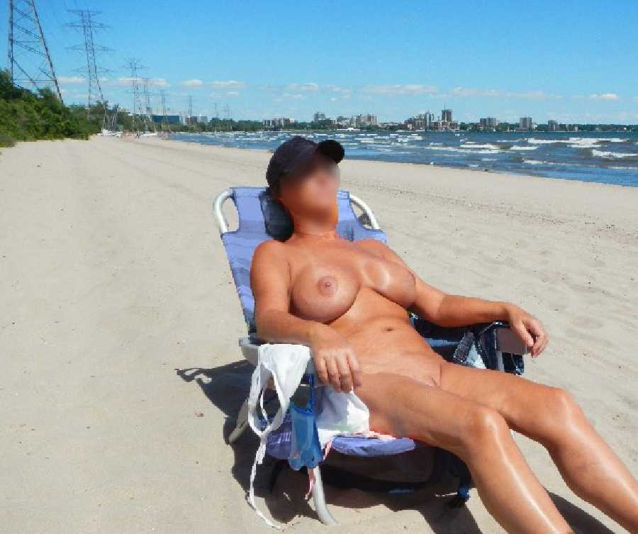 My Flashing at the Beach
