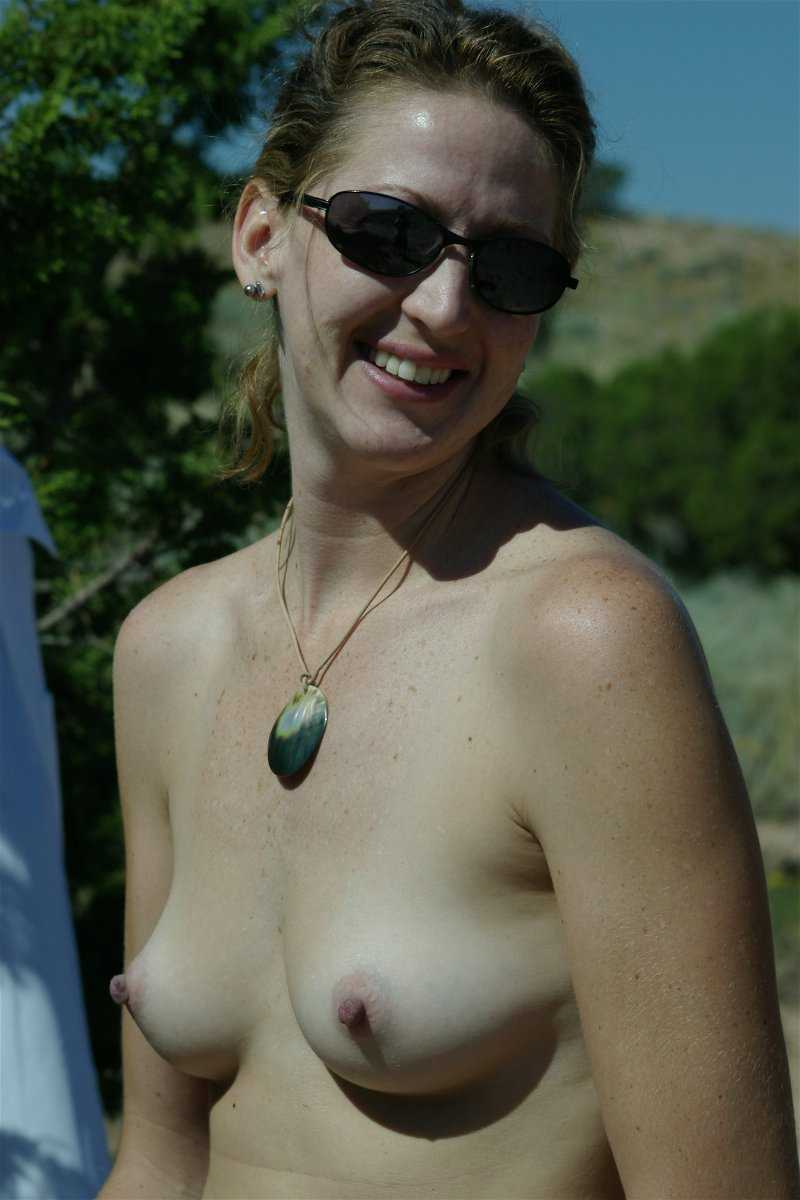 My Wife Nude Outside
