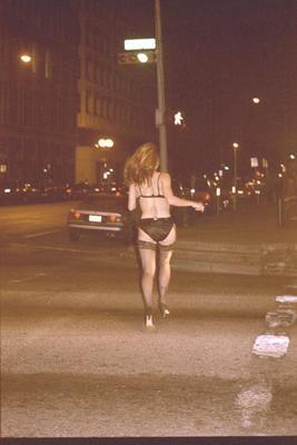 Girl Streaking Naked