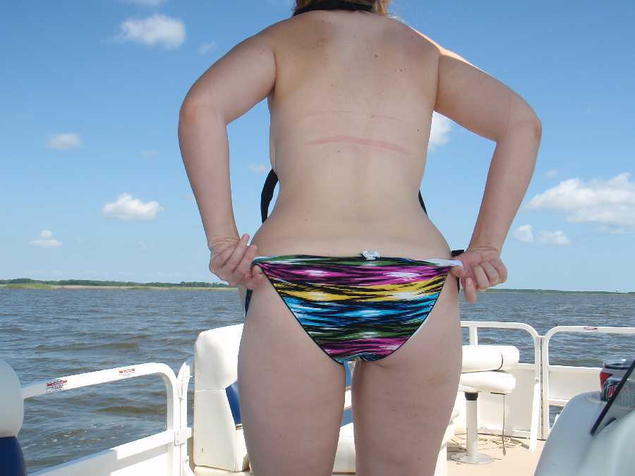 Flashing Out on the Boat
