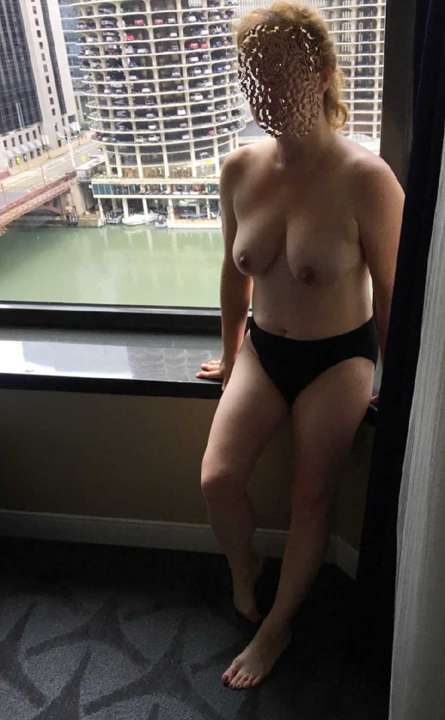 Nude at the Window Dare