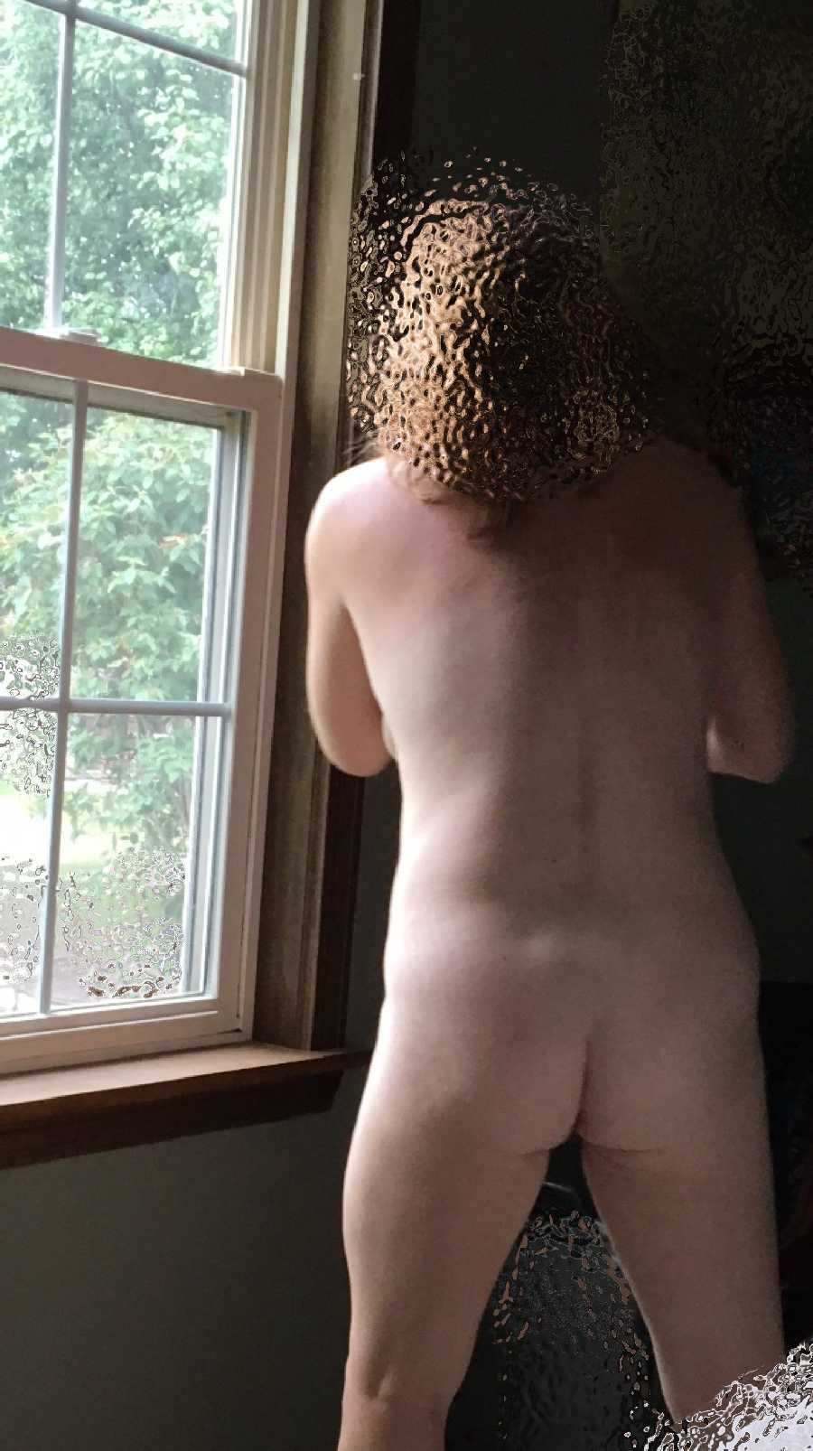 Dared to go Outside Naked