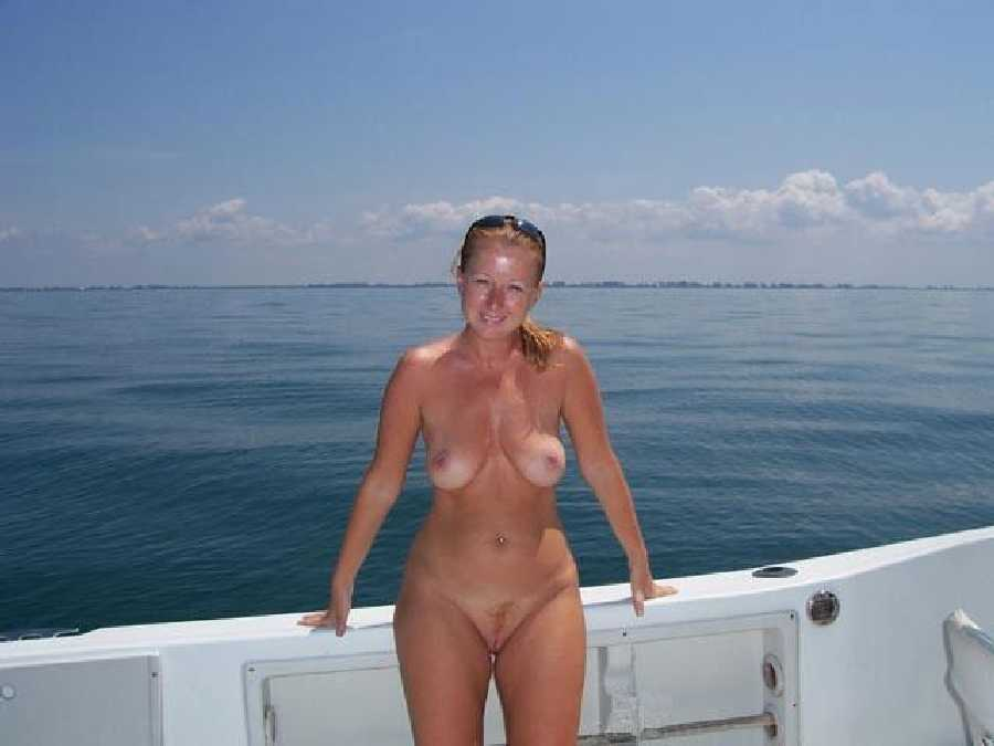 Boating nude naked sex