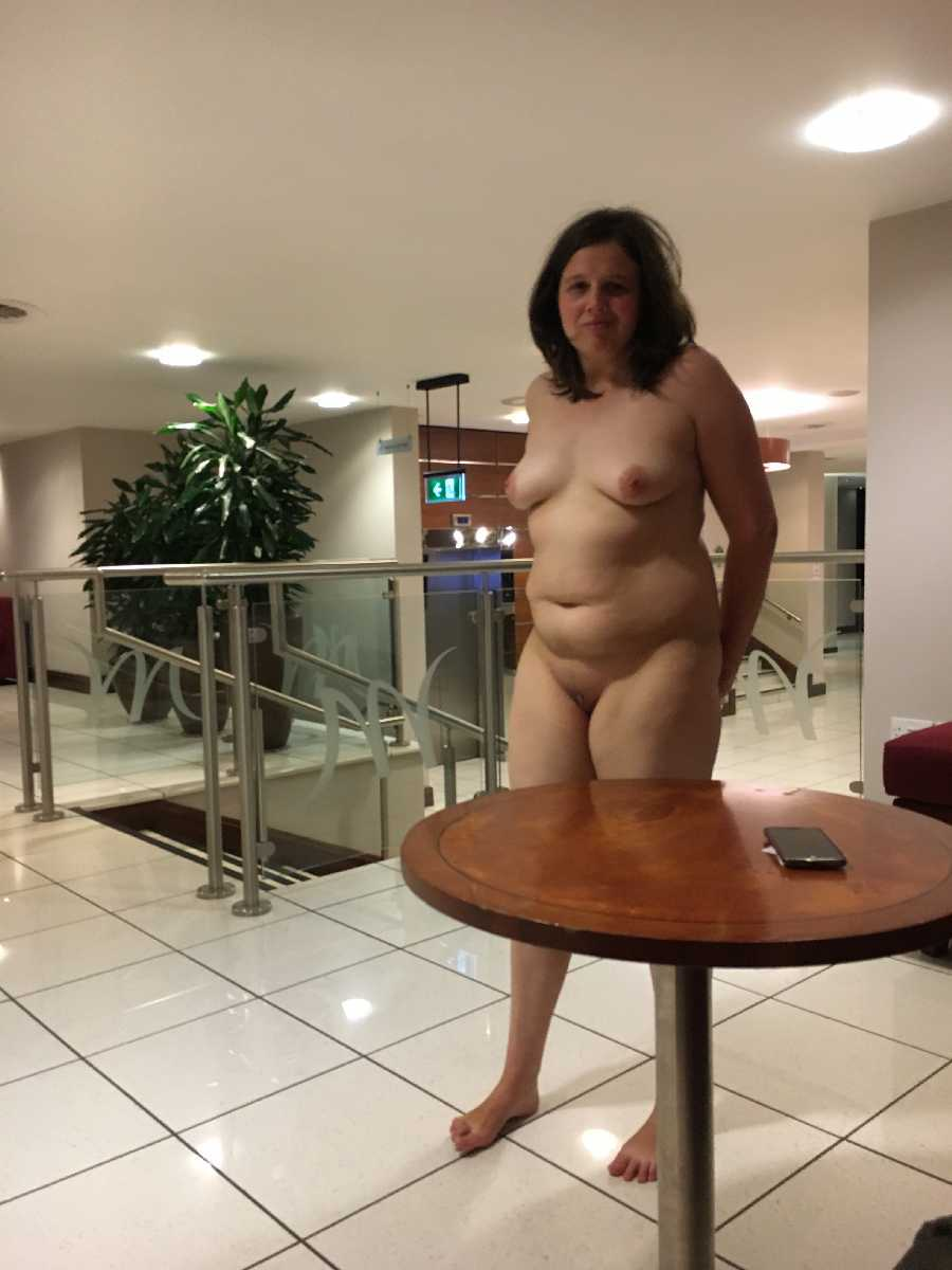 All the way to the Lobby Naked