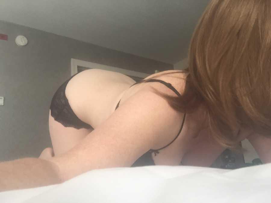 Hotel Masturbation w/ Curtains Open