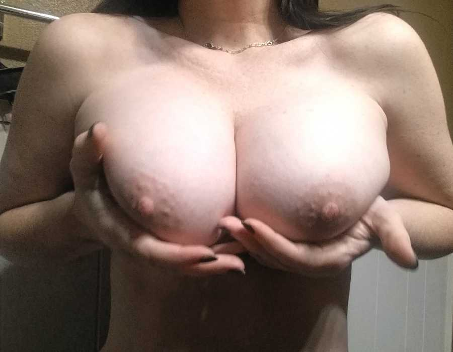 Loves having Her Nipples Played With