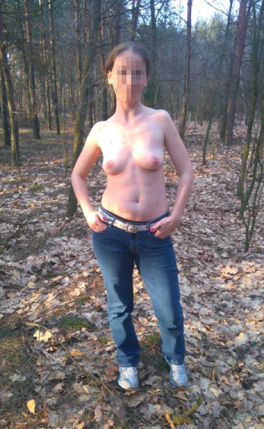 Flashing in the Forest