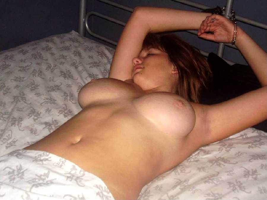 Naked tits tied