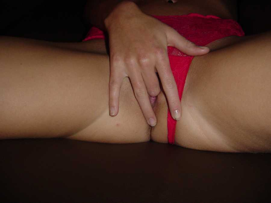 Red Holiday Panties