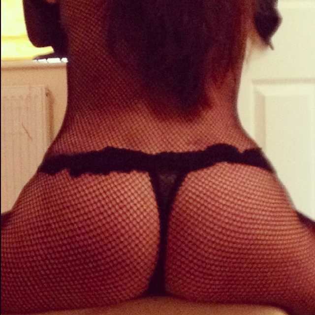 Fishnet Stocking Nude Dare