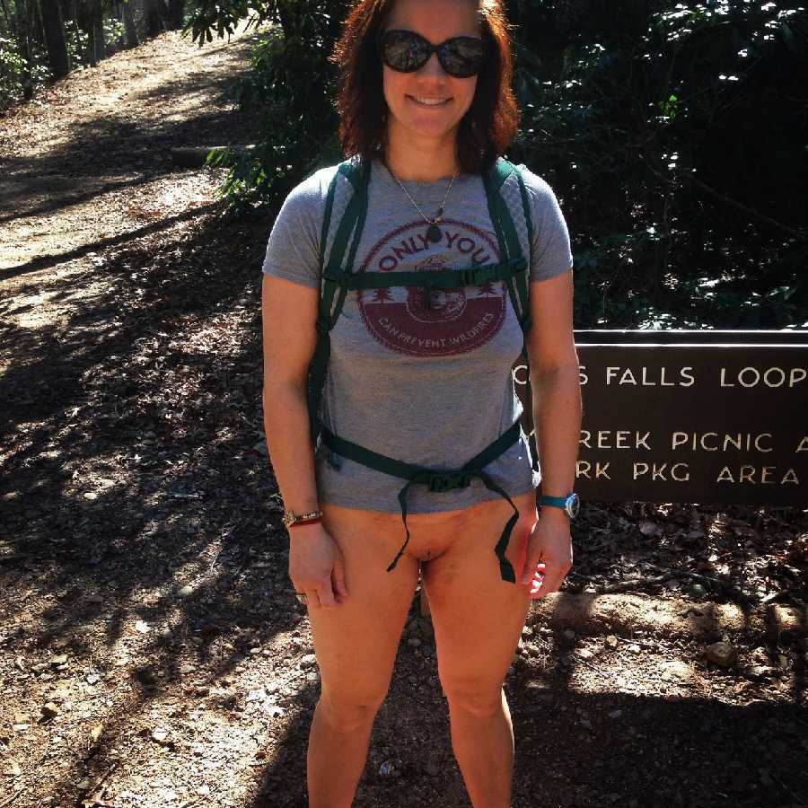Outside Bottomless Hiking Dare