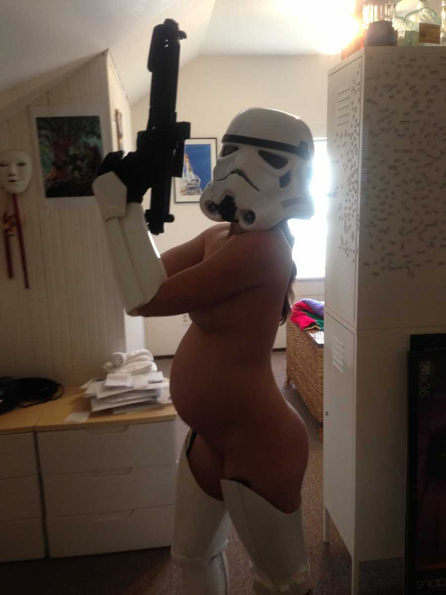 Nude Sexy Storm Trooper