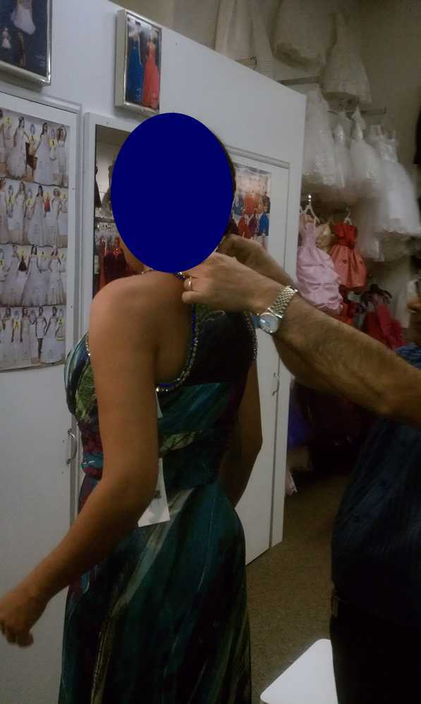 Trying on a Dress Dare