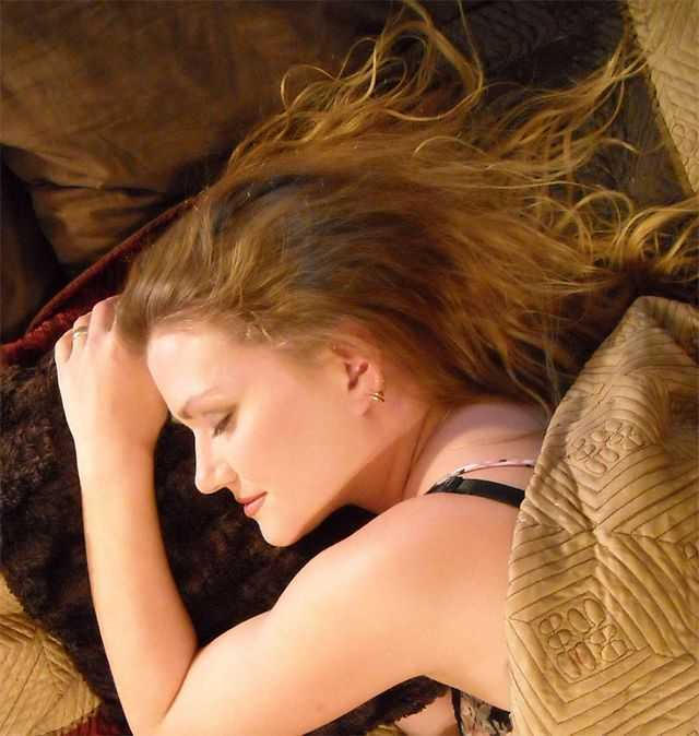 Sexy Sleeping Beauty