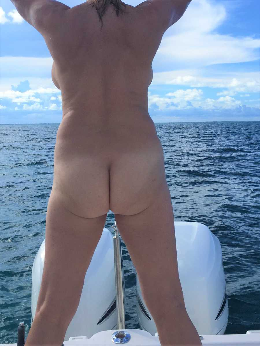 Naked on their Boat