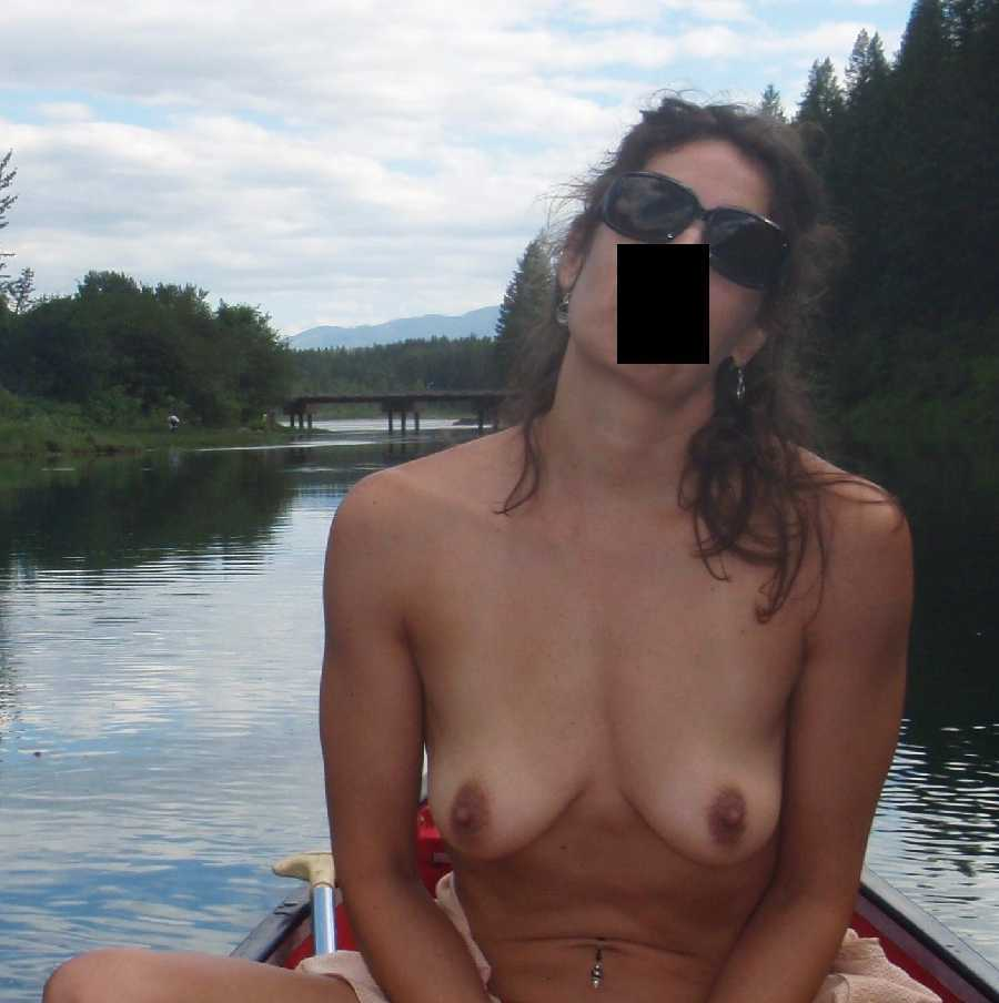 Canoeing Naked Dare