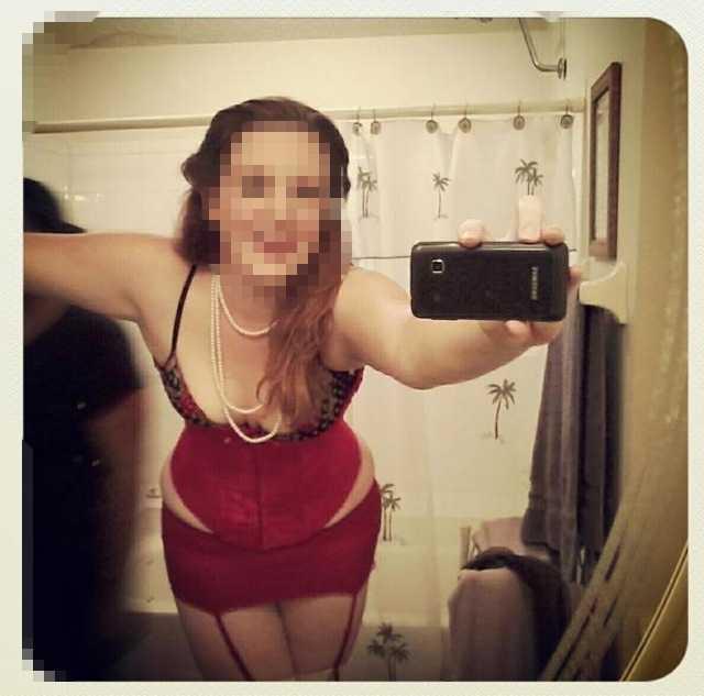 Military wife nude selfies