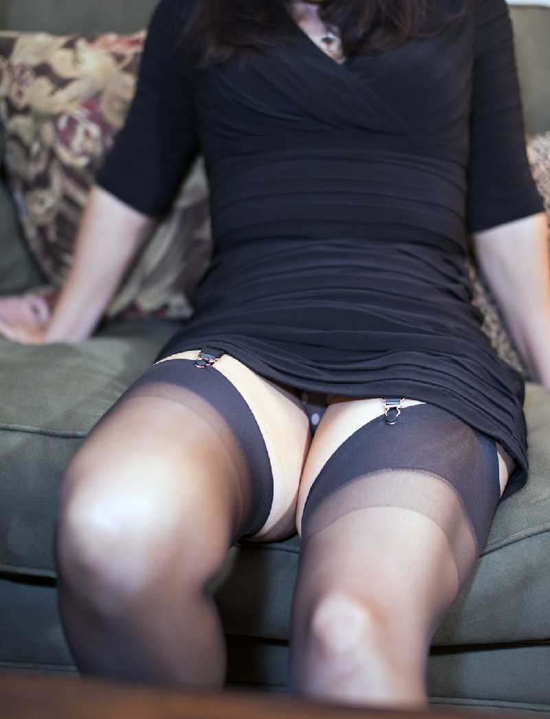 Pulling Up Her LBD