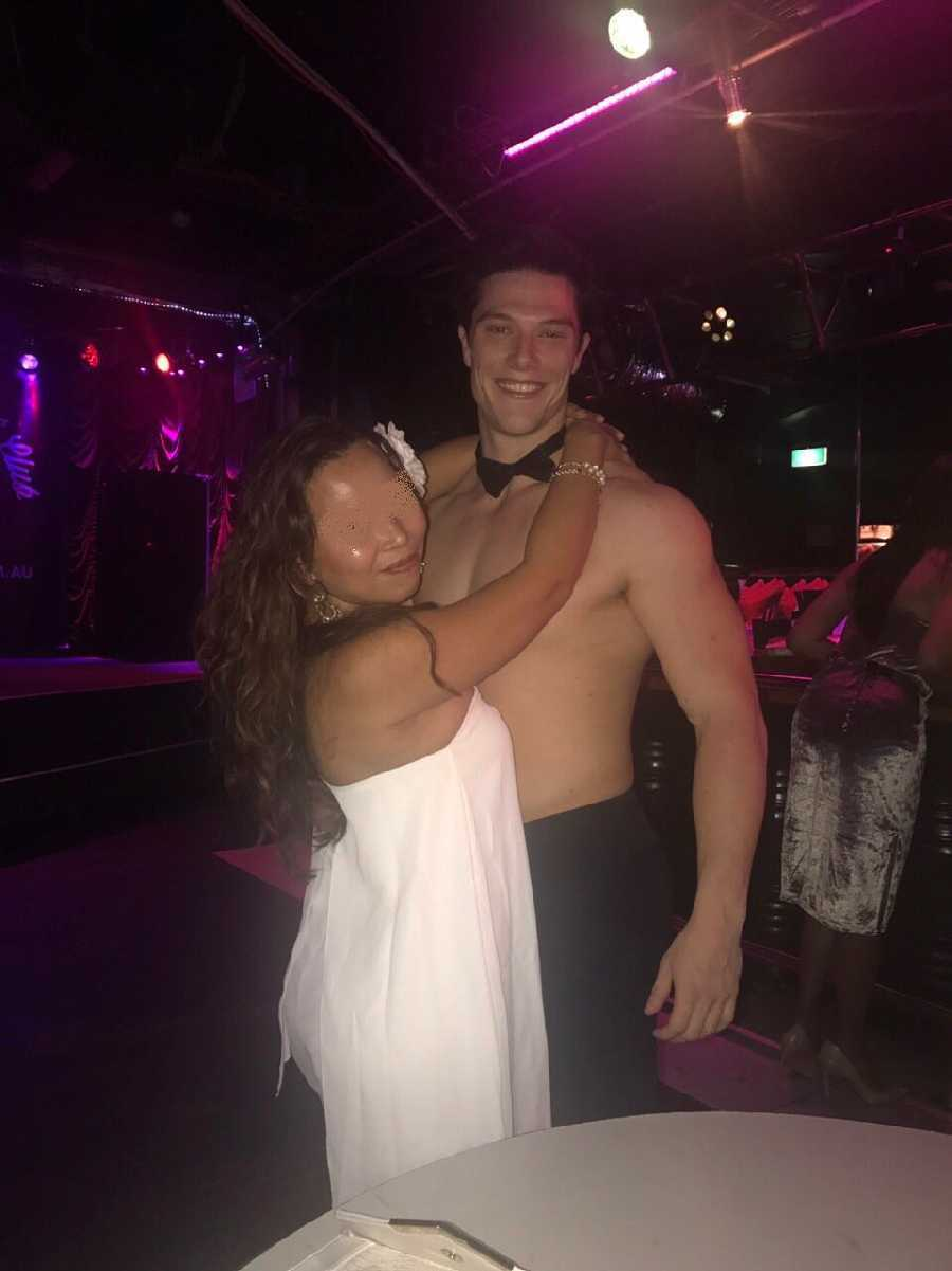 Visit to a Male Strip Club