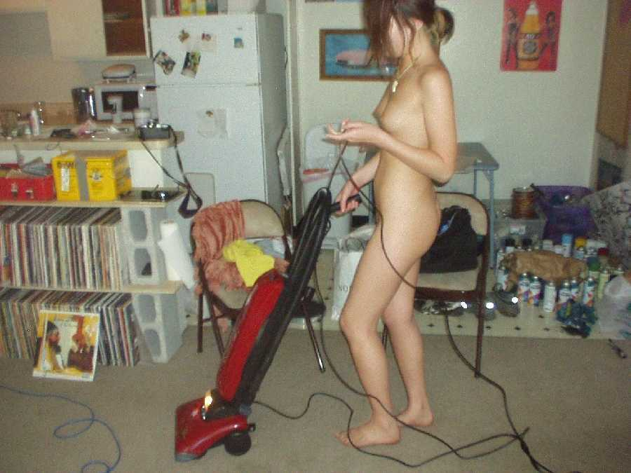 Cleaning the House Naked