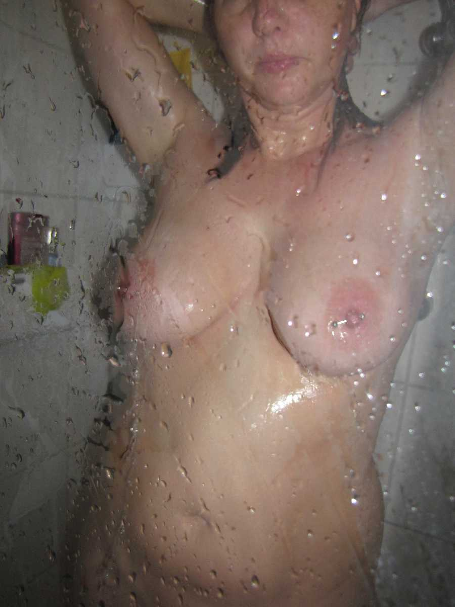 Nude in the Shower