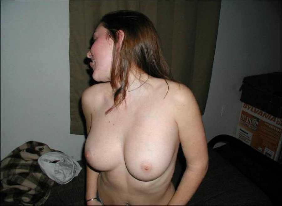College Girl Flashing Boobs