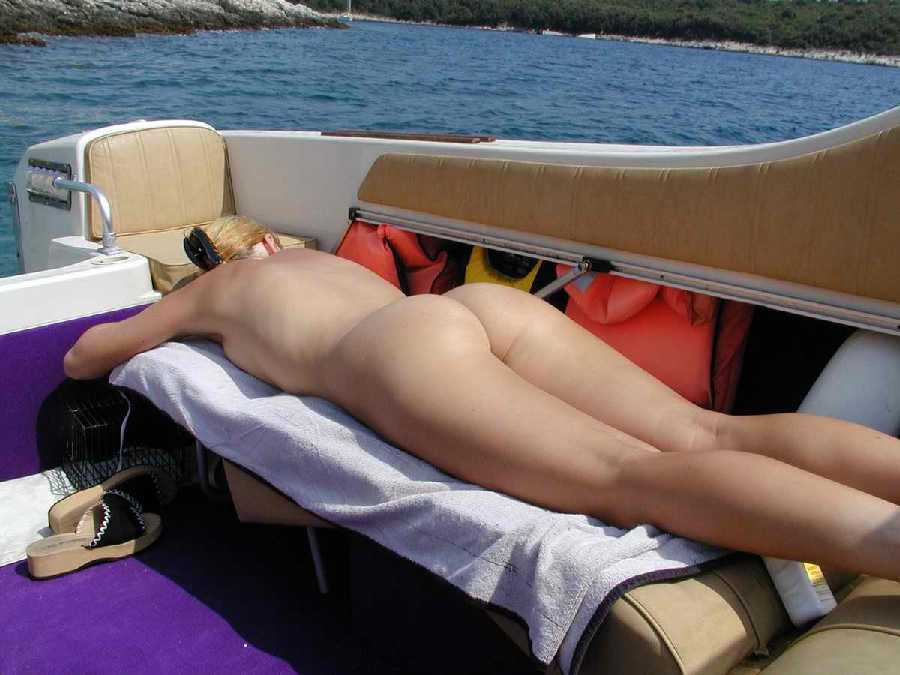 Naked On A Boat