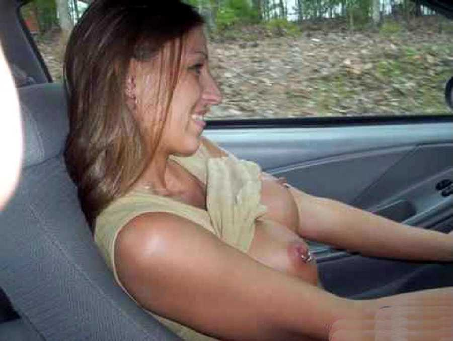 Driving with My Tits Out