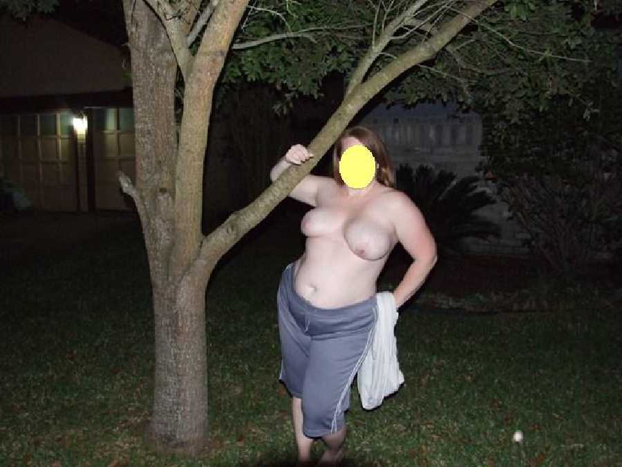 Naked in the Yard