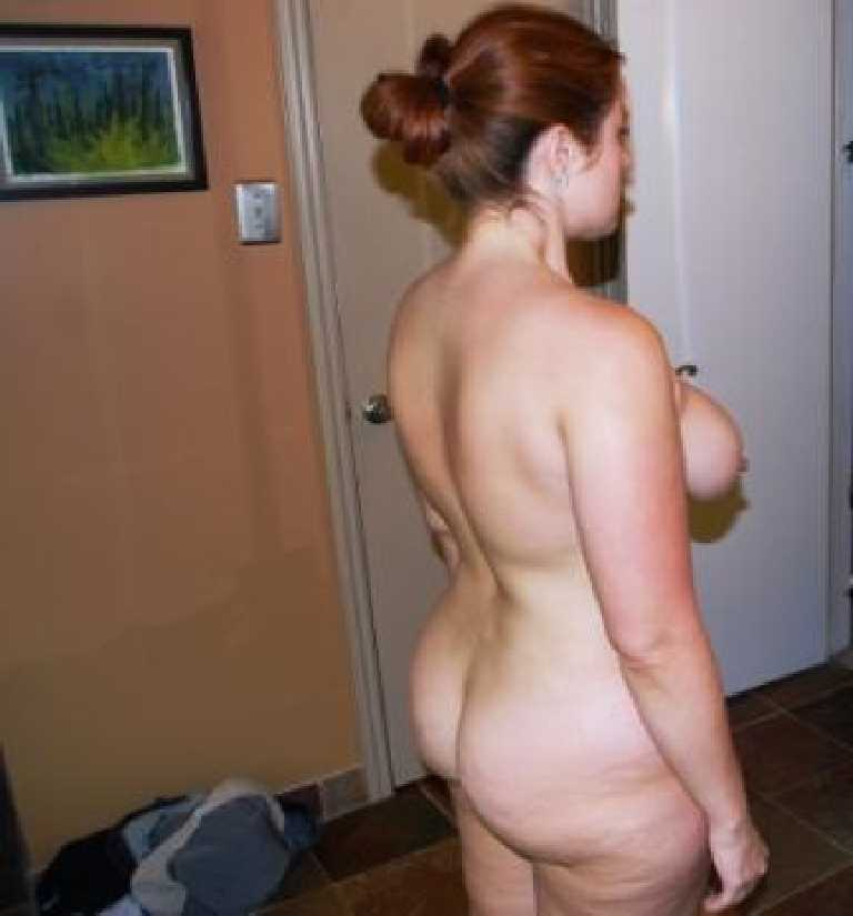 caught naked at